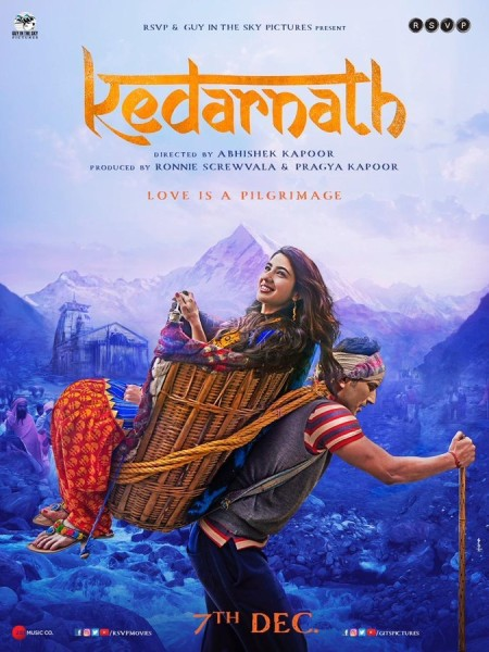 Kedarnath (2018) Hindi 720p HDRip ESubs-DLW