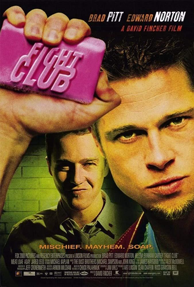 Fight Club 1999 720p BluRay 800MB x264-GalaxyRG