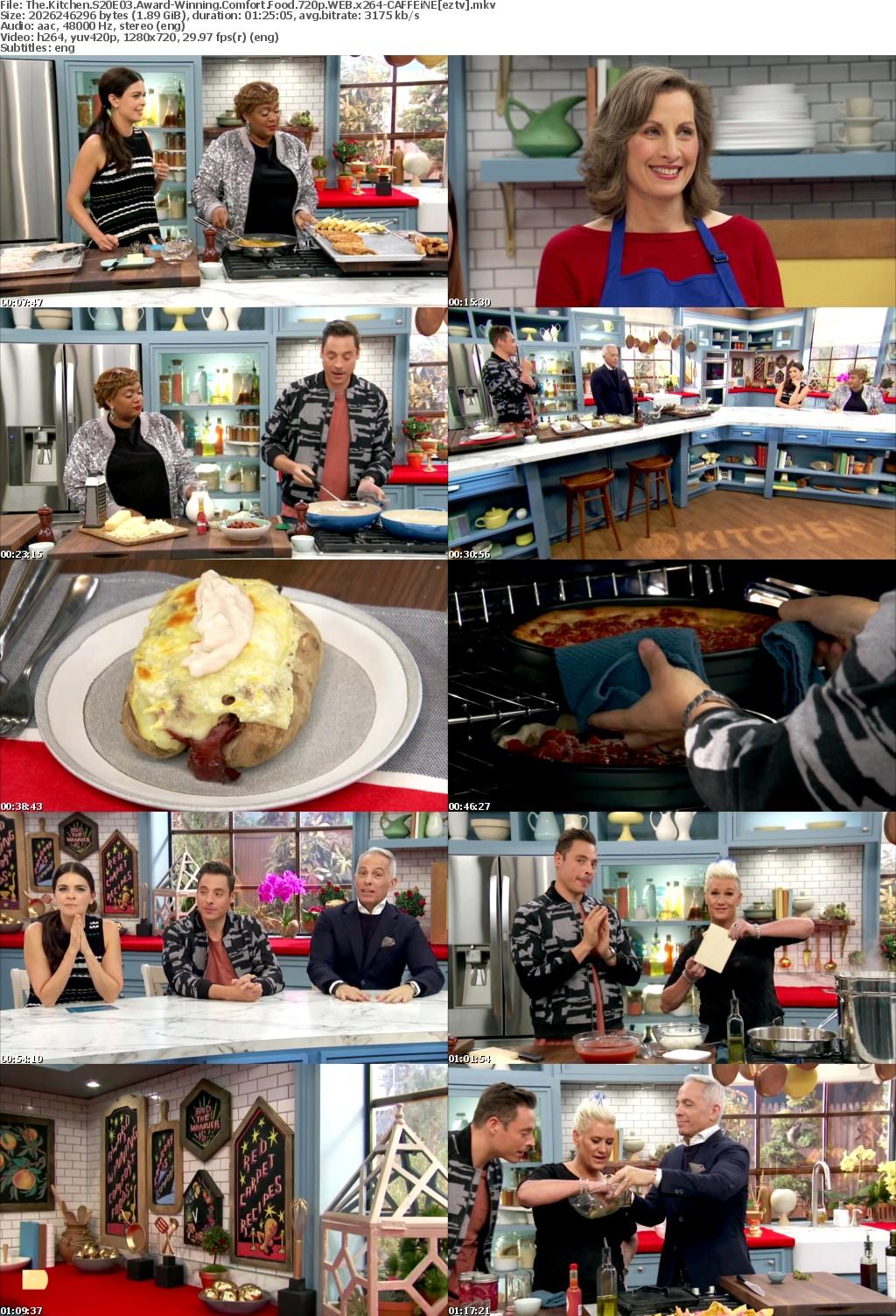 The Kitchen S20E03 Award-Winning Comfort Food 720p WEB x264-CAFFEiNE