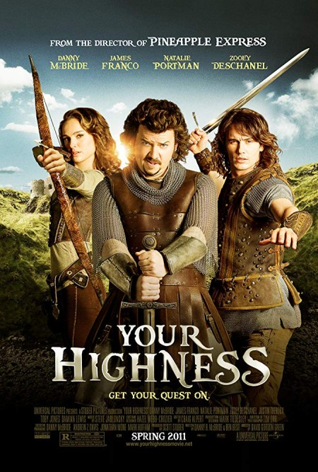 Your Highness (2011) UNRATED 1080p BluRay H264 AAC  RARBG