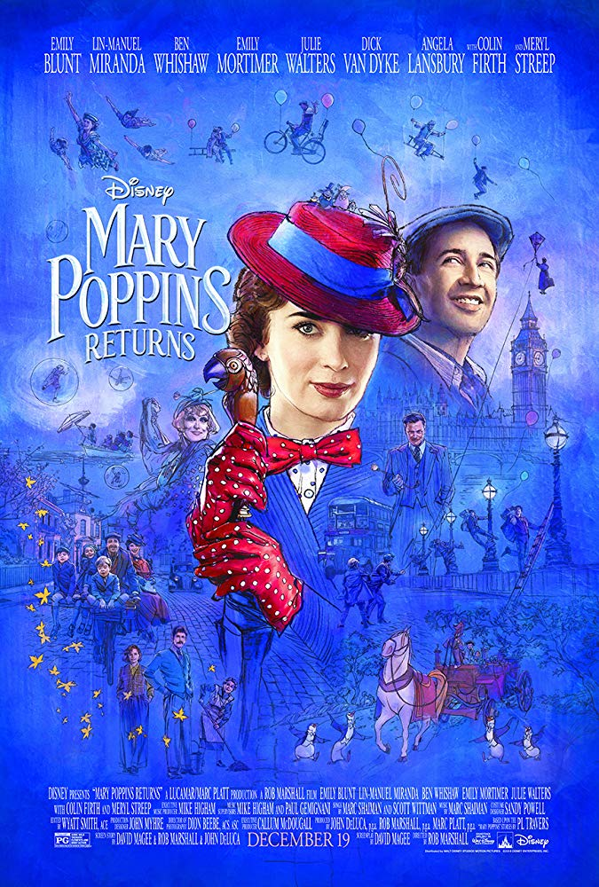 Mary Poppins Returns 2018 [BluRay] [1080p] YIFY