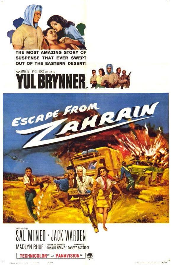 Escape from Zahrain 1962 BRRip XviD MP3-XVID