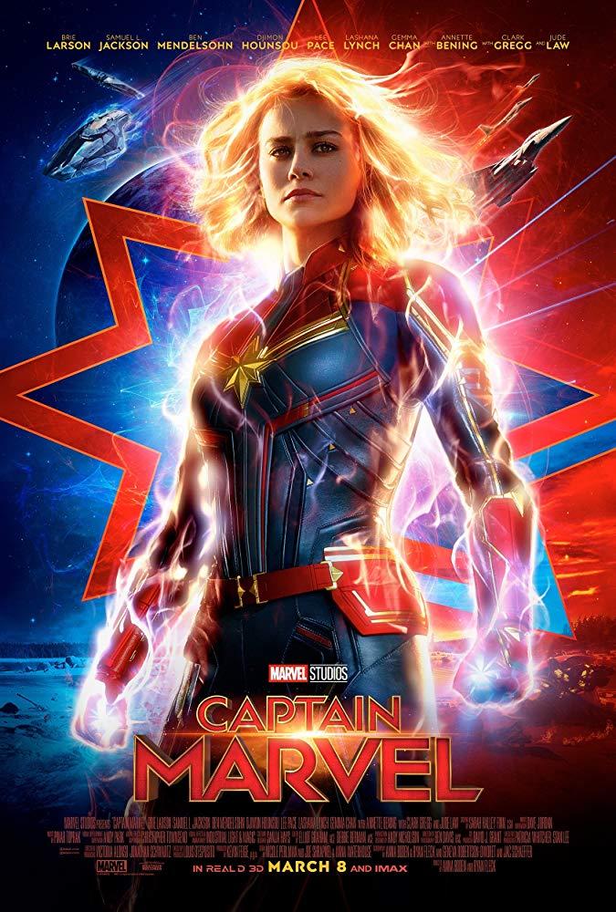 Captain Marvel 2019 720p HDCAM Hindi (Cleaned) English x264 - LOKiHD