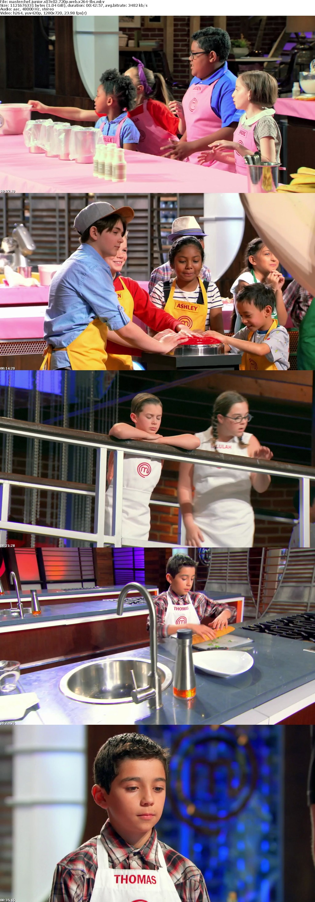MasterChef Junior S07E02 720p WEB x264-TBS
