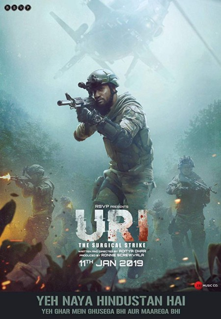 URI The Surgical Strike - (2019) - Hindi - 720p HDRip x264 1 4GB - TAMILROCKERS