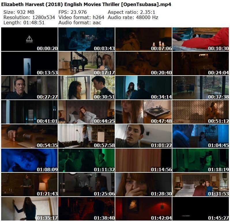 Elizabeth Harvest 2018 English Movies Thriller [OpenTsubasa]