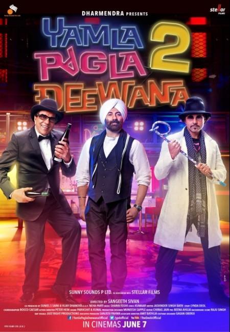 Yamla Pagla Deewana (2011) Hindi - 720p BluRay - x264 - DD 5 1 - ESubs -Sun George (Requested)