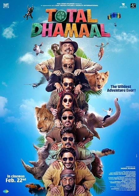 Total Dhamaal - (2019) - Hindi - HDRip - 700MB - TAMILROCKERS