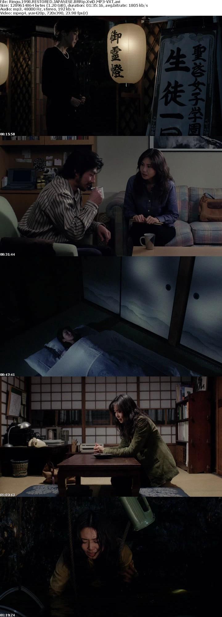 Ringu 1998 RESTORED JAPANESE BRRip XviD MP3-VXT