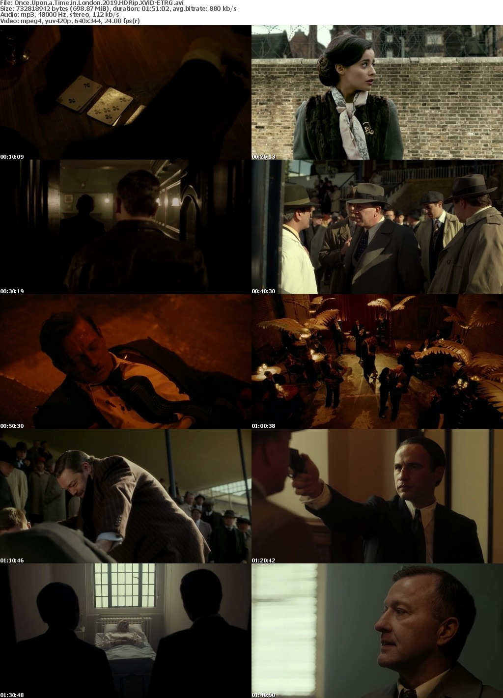 Once Upon a Time in London (2019) HDRip XViD-ETRG