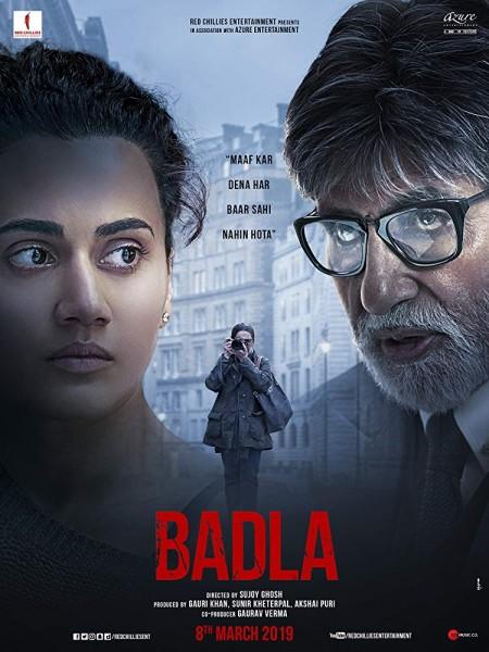 Badla (2019) Hindi - 720p WEB-HD - x264 - DD 5.1 - ESubs -Sun George