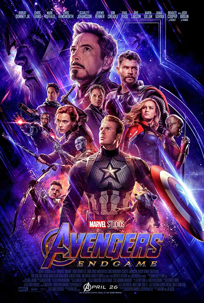 Avengers Endgame 2019 CAM X264 MP3 English-RypS