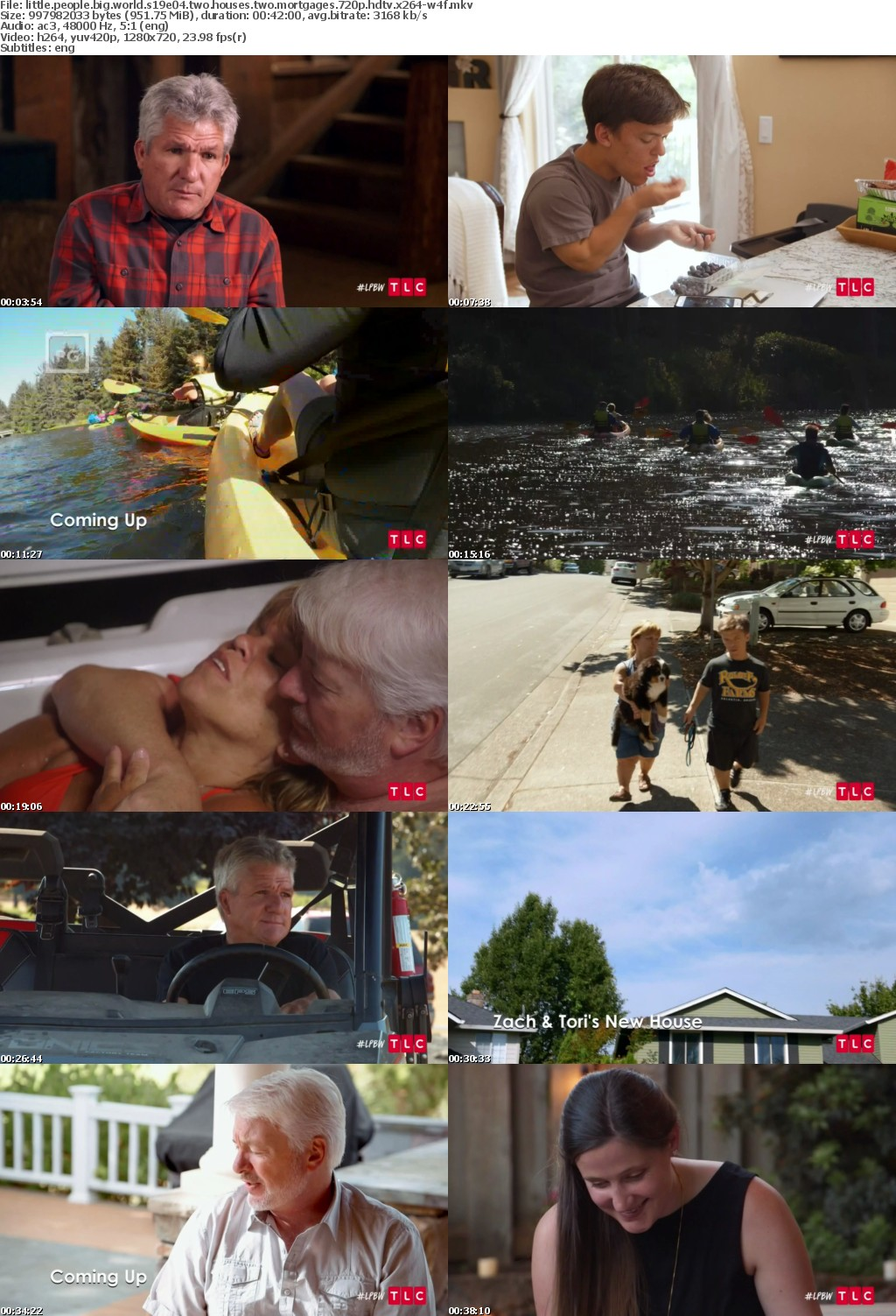 Little People Big World S19E04 Two Houses Two Mortgages 720p HDTV x264-W4F