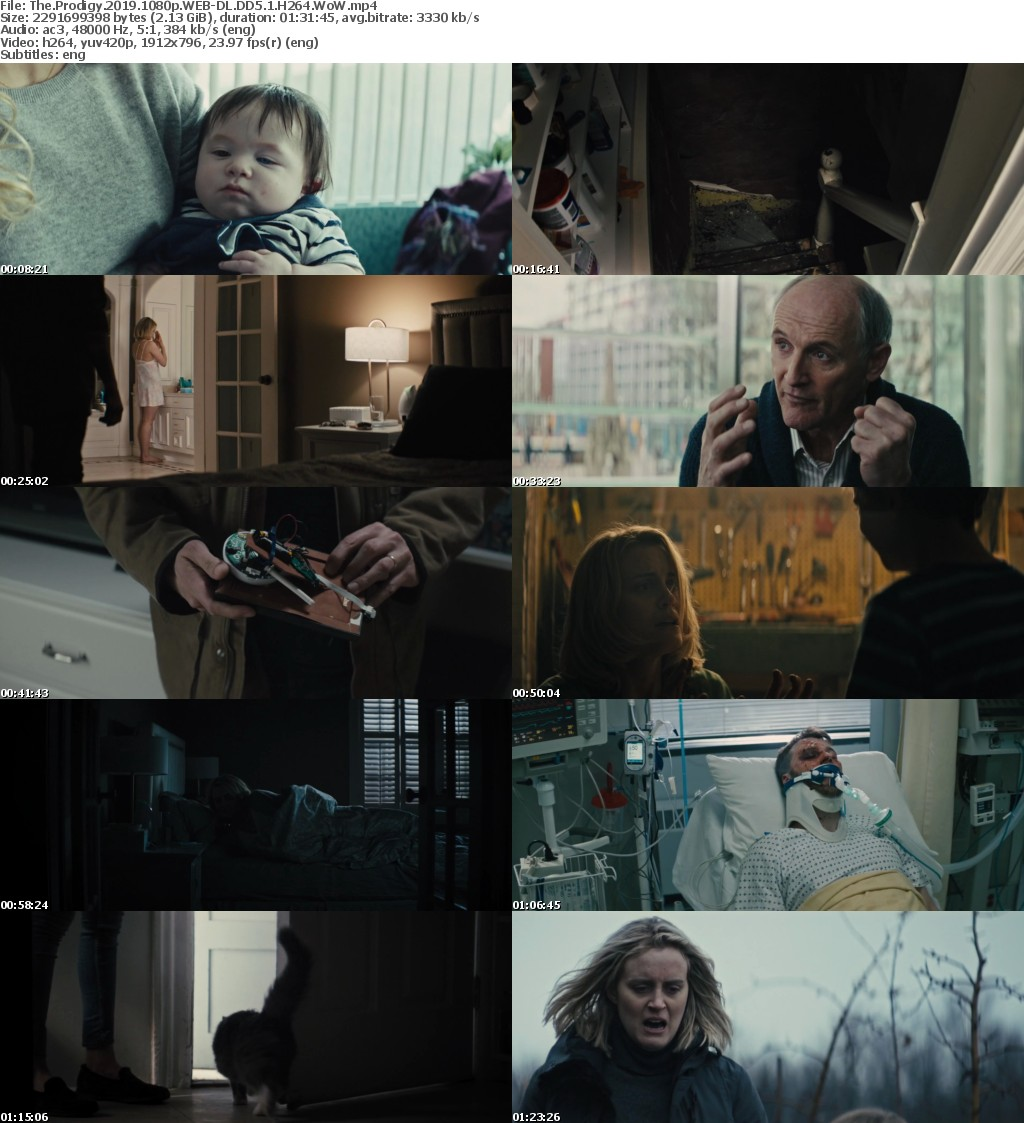 The Prodigy 2019 1080p WEB-DL DD5 1 H264 WoW