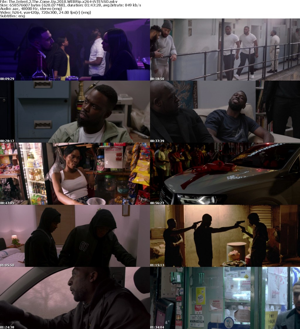 The Intent 2 The Come Up (2018) WEBRip x264-iNTENSO