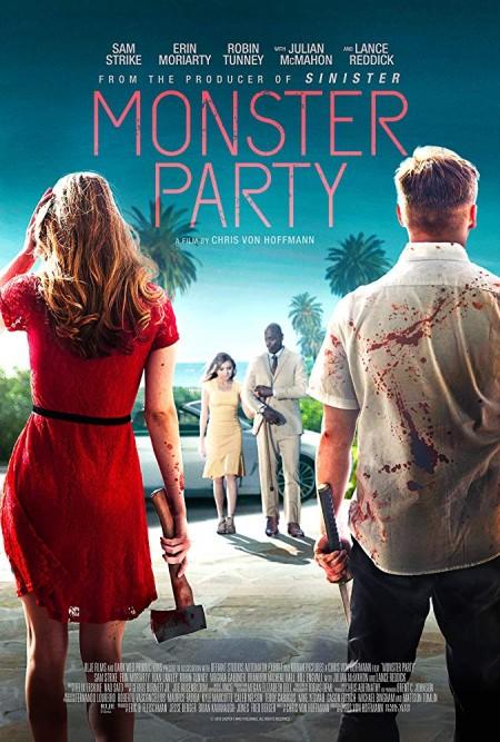 Monster Party 2018 720p BluRay 800MB x264-GalaxyRG