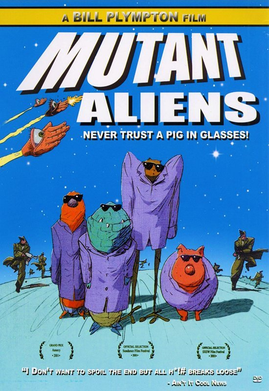 Mutant Aliens 2001 DVDRip XViD