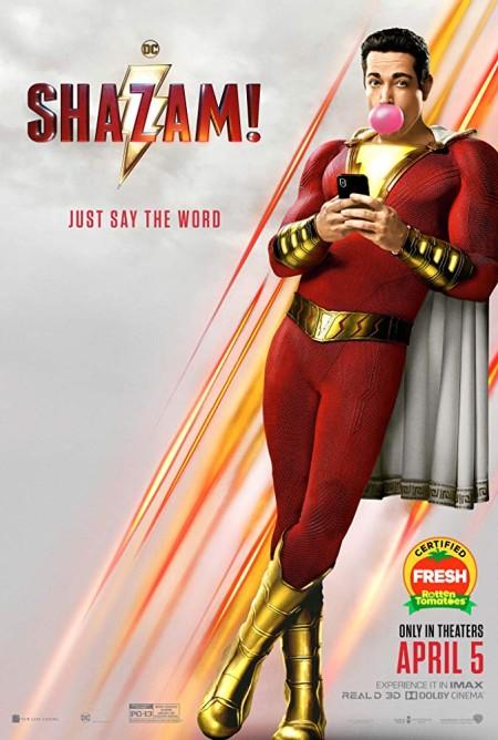 Shazam (2019) 720p HC HDRip x264 Hindi (Line)-English DD2 0-a2z Telly