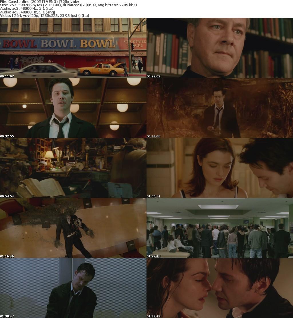 Constantine (2005) 720p BluRay x264 Dual Audio [ITA+ENG]-DLW