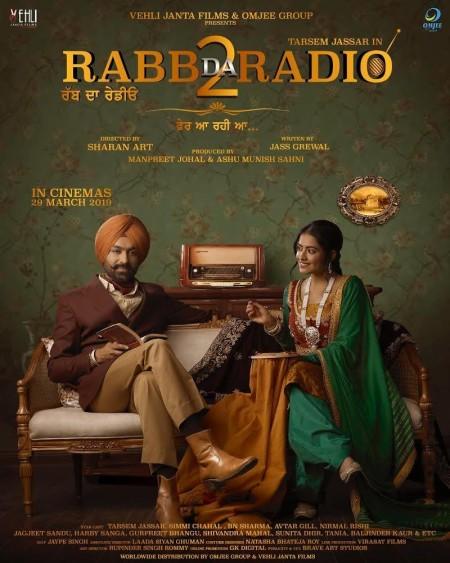 Rabb Da Radio 2 (2019) Punjabi Movie 720p 1GB PreDVD Rip x264
