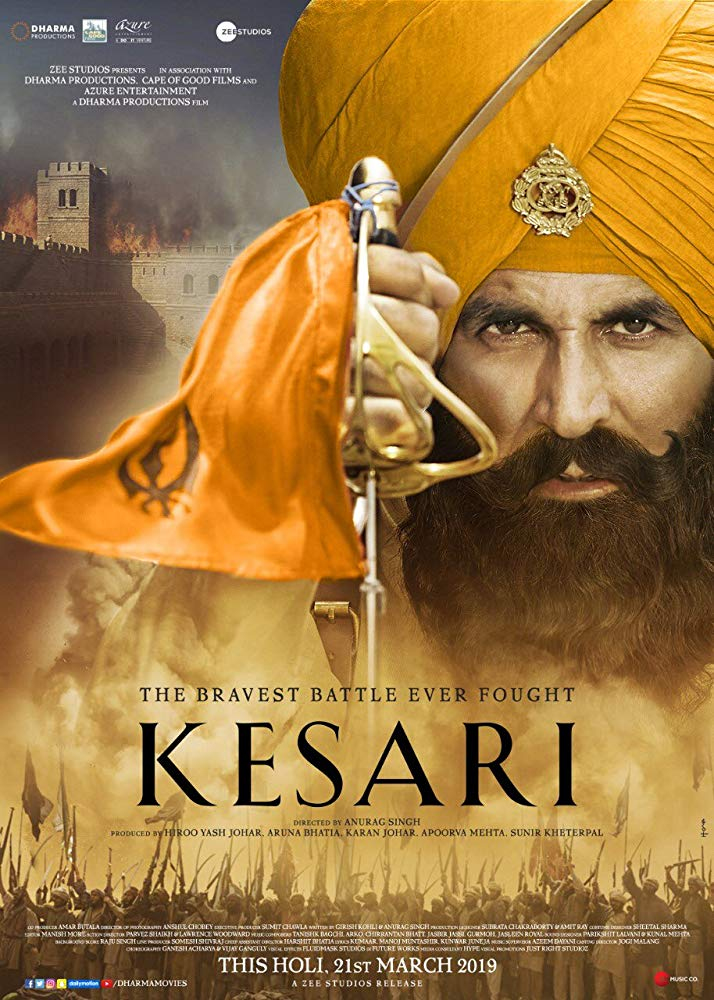 Kesari 2019 720p HDRip Hindi Full Movie x264 AAC ESubs [SM Team]