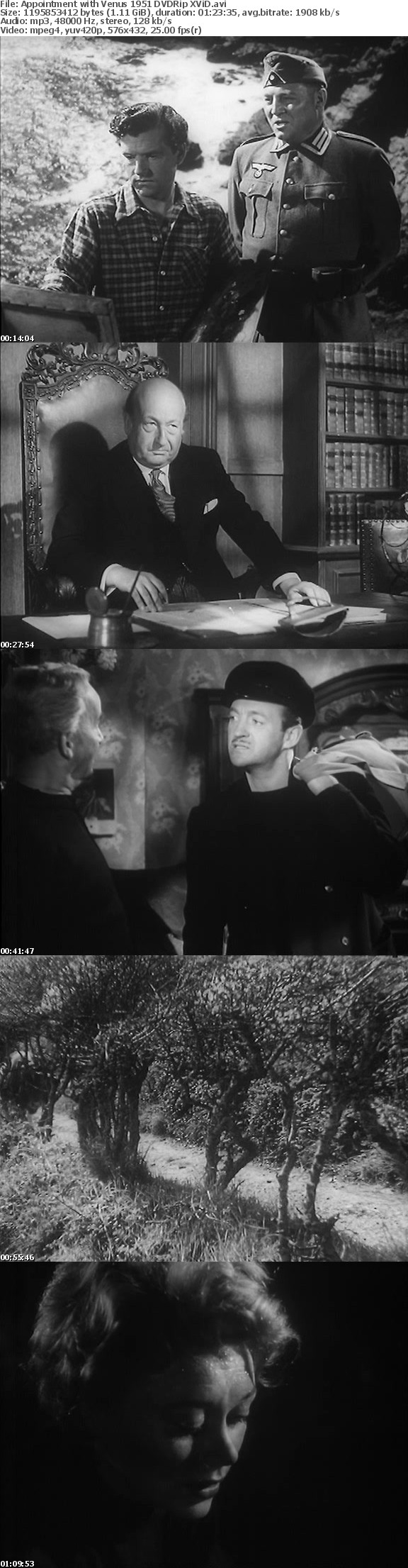Appointment with Venus 1951 DVDRip XViD