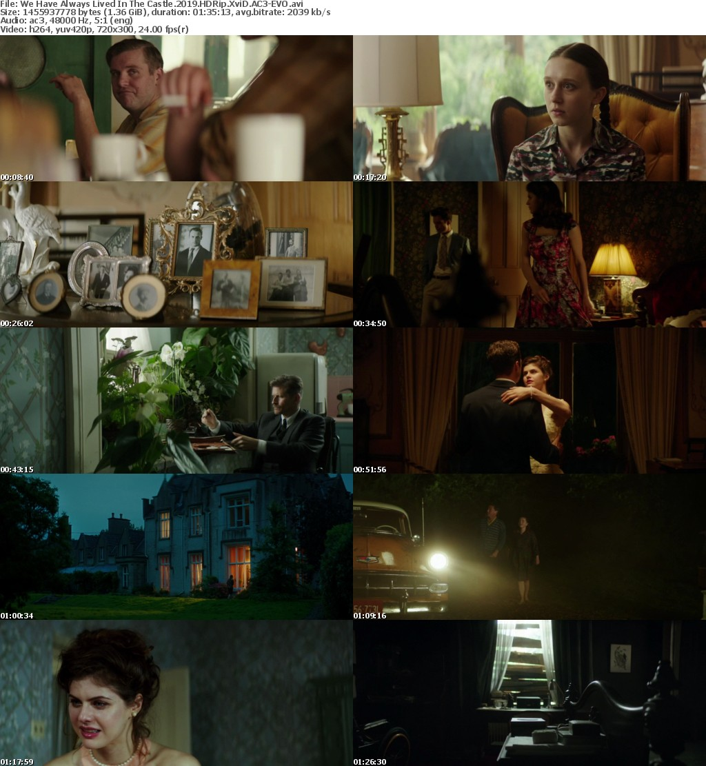 We Have Always Lived In The Castle (2019) HDRip XviD AC3-EVO