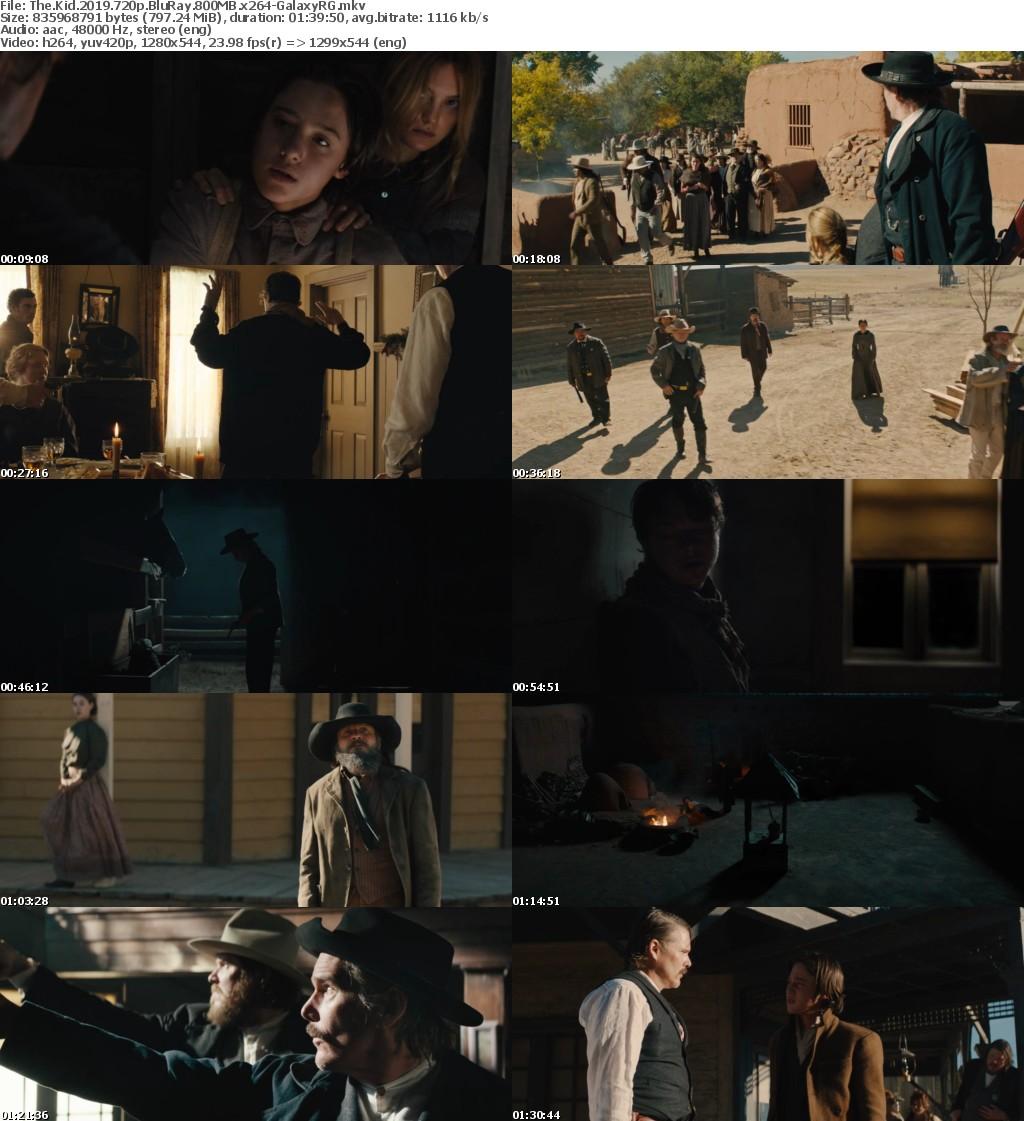 The Kid (2019) 720p BluRay 800MB x264-GalaxyRG