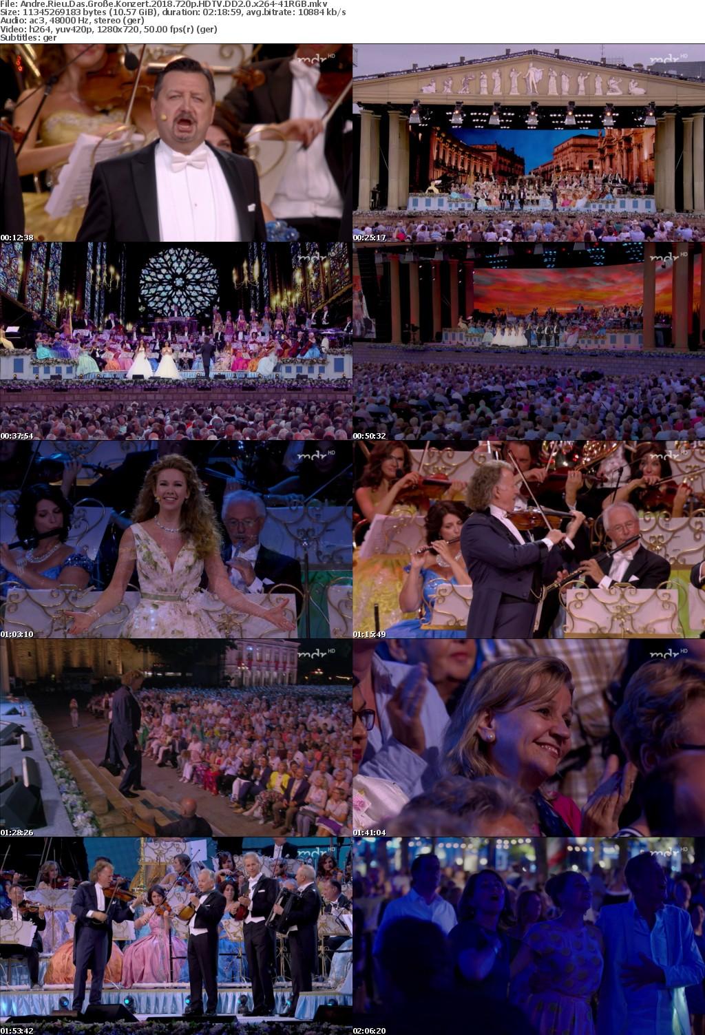 Andre Rieu Das GroSe Konzert 2018 720p HDTV DD2 0 x264-41RGB