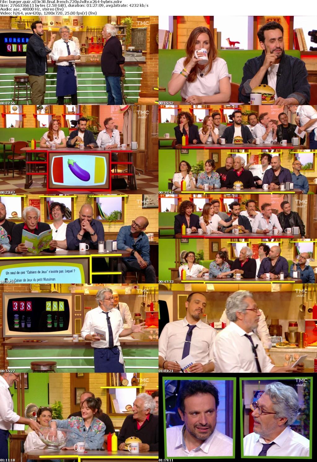 Burger Quiz S03E38 FiNAL FRENCH 720p HDTV x264-HYBRiS