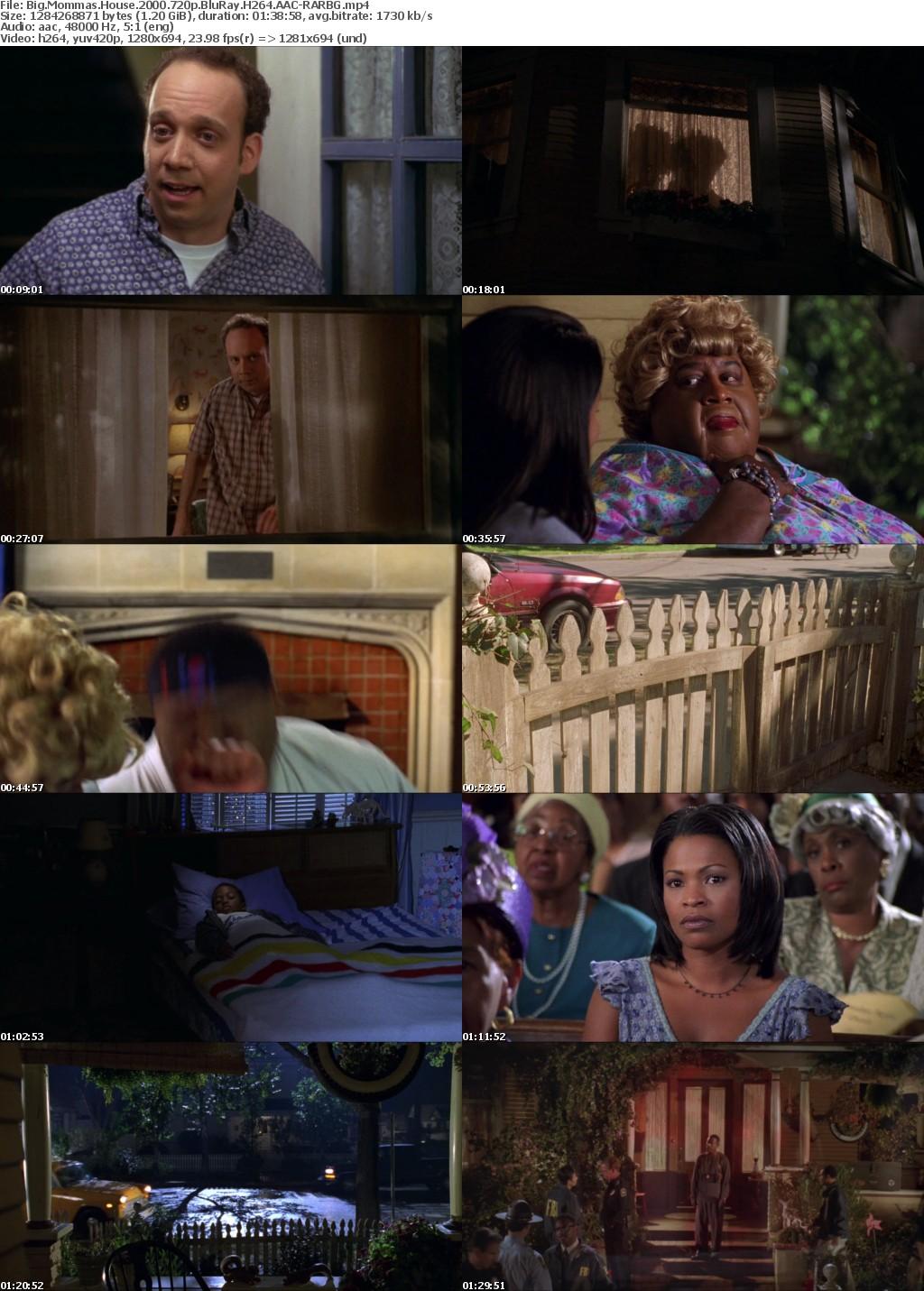 Big Mommas House (2000) 720p BluRay H264 AAC-RARBG