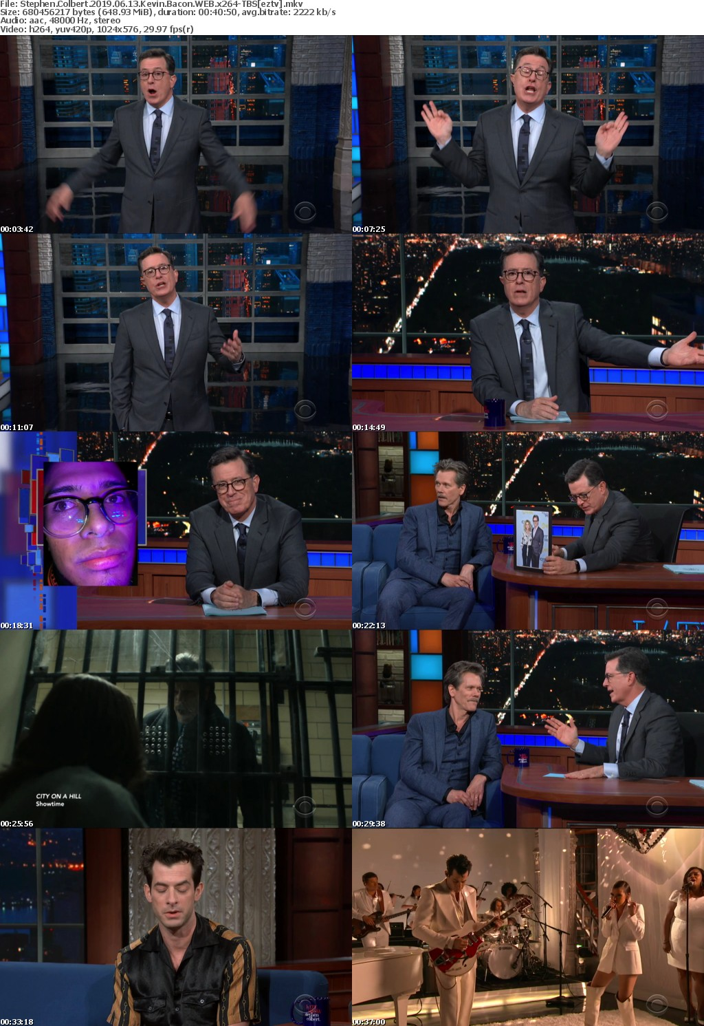 Stephen Colbert 2019 06 13 Kevin Bacon WEB x264-TBS