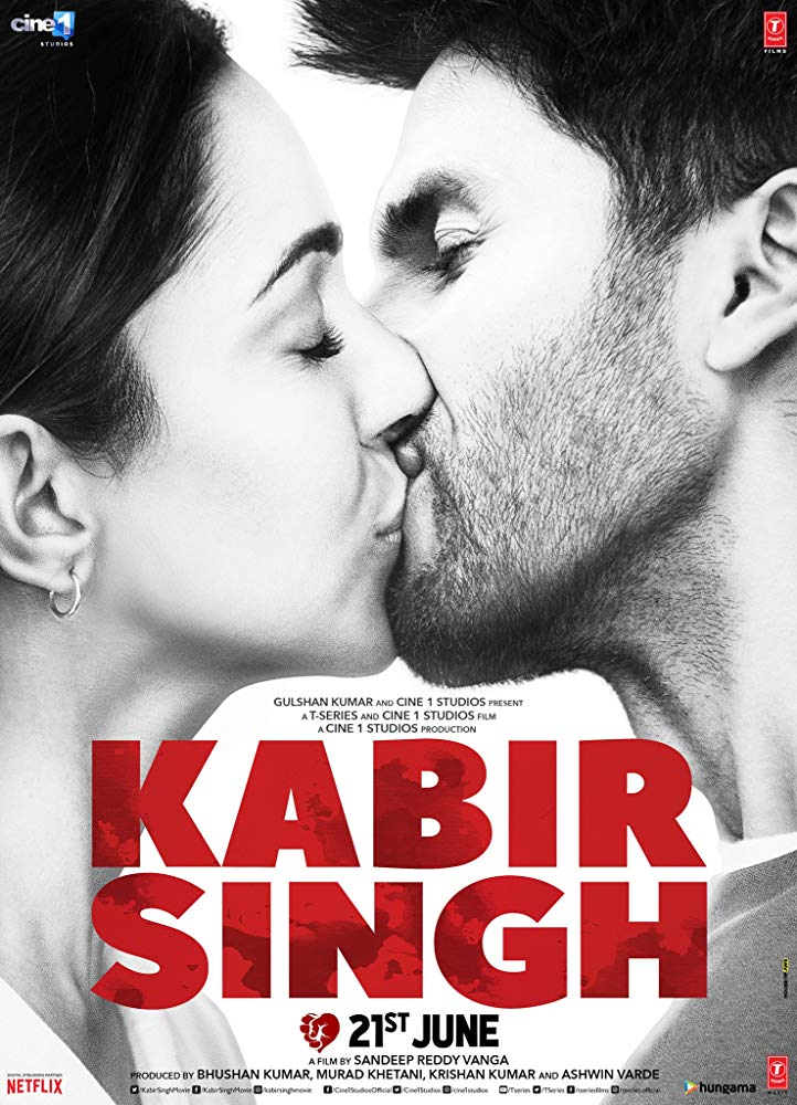 Kabir Singh 2019 Hindi - 720p HQ DVDScr - x264 - 1 2GB