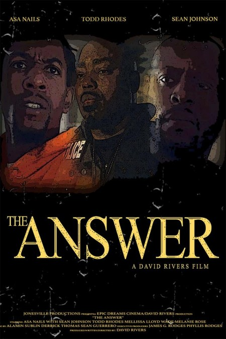 The Answer (2018) HDRip AC3 x264-CMRG