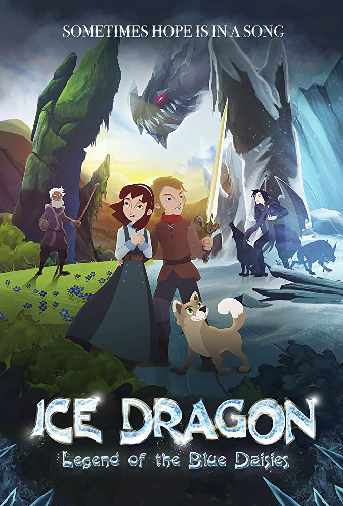 Ice Dragon Legend Of The Blue Daisies 2018 BRRip XviD MP3-XVID