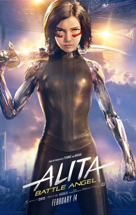 Alita Battle Angel 2019 English HDRip 720p x264 AAC 1GB ESub MB