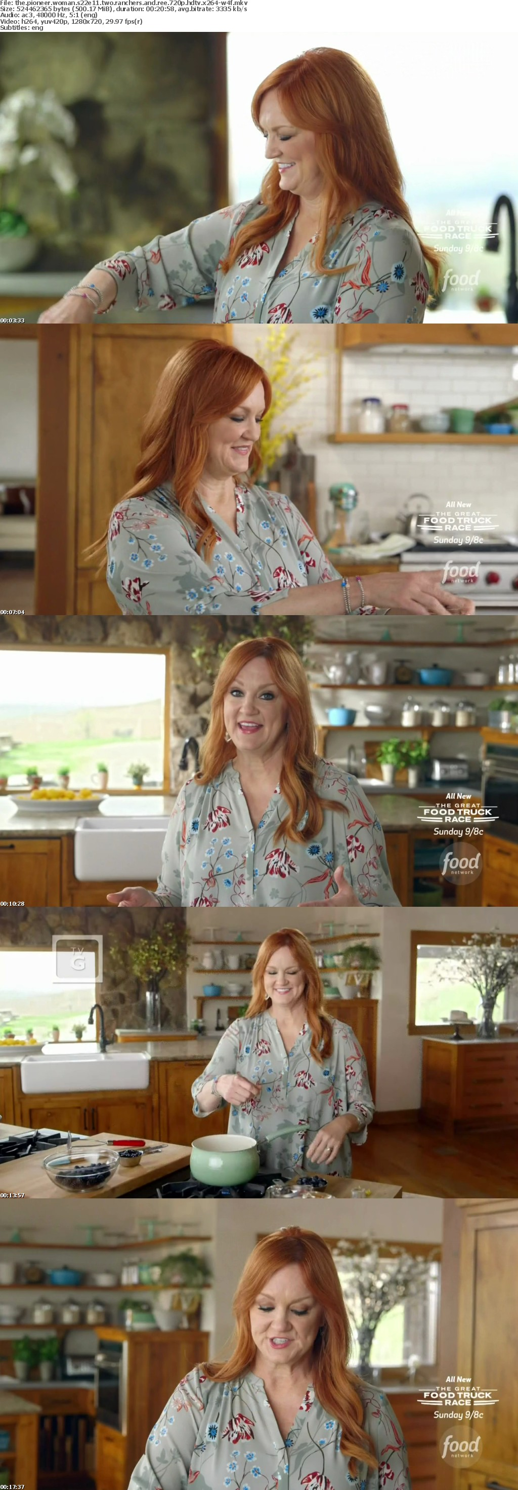 The Pioneer Woman S22E11 Two Ranchers and Ree 720p HDTV x264-W4F