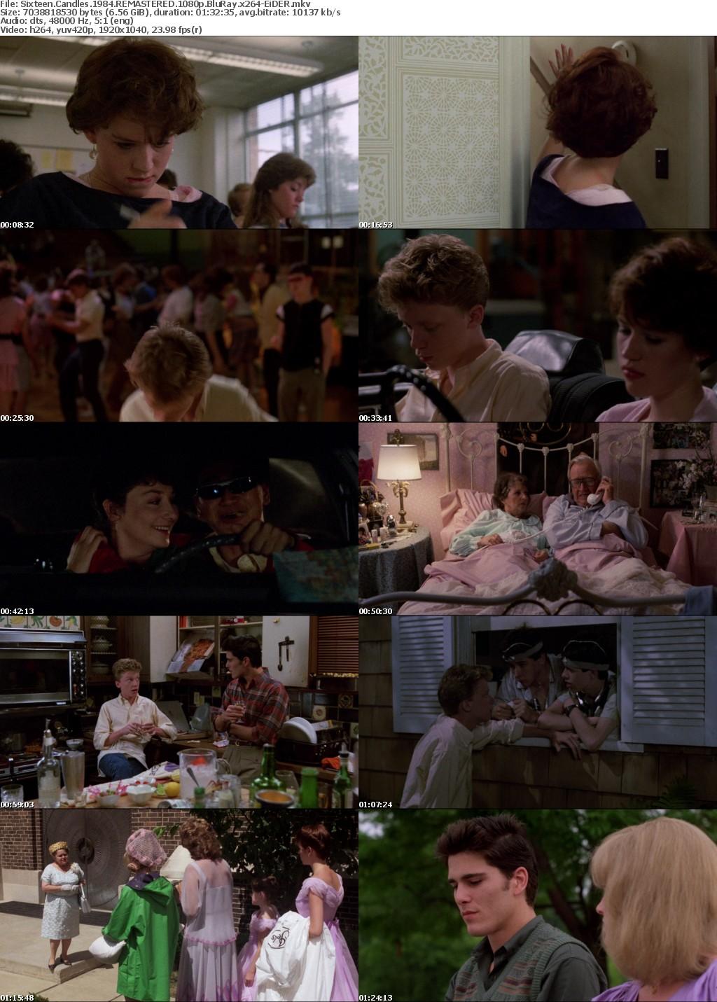 Sixteen Candles 1984 REMASTERED 1080p BluRay x264-EiDER