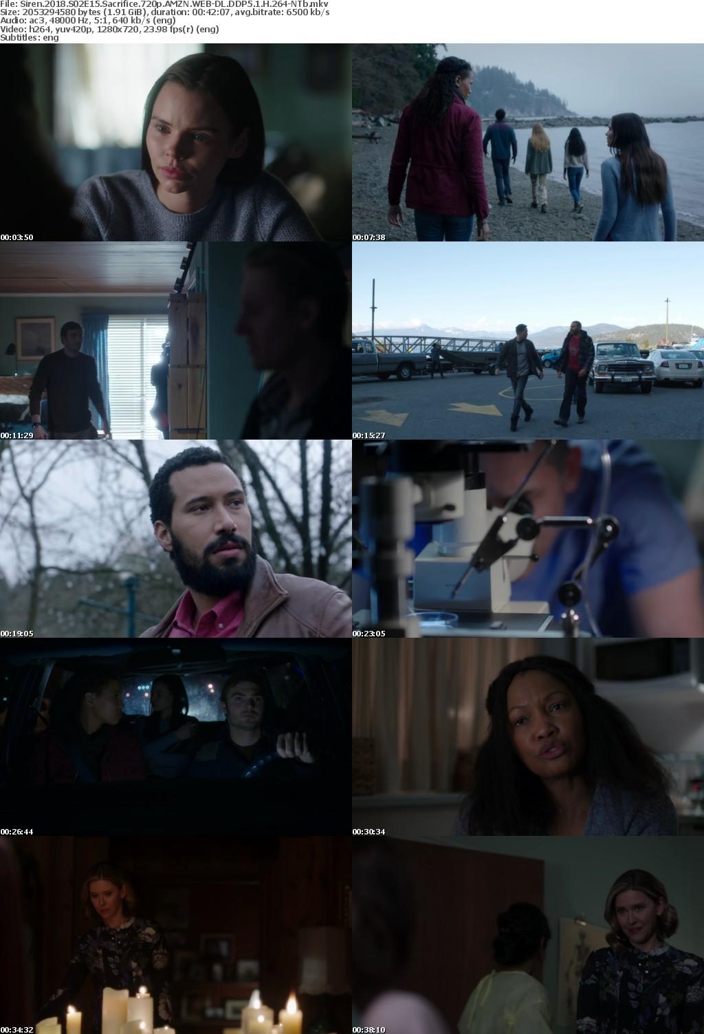Siren 2018 S02E15 Sacrifice 720p AMZN WEB-DL DDP5 1 H 264-NTb