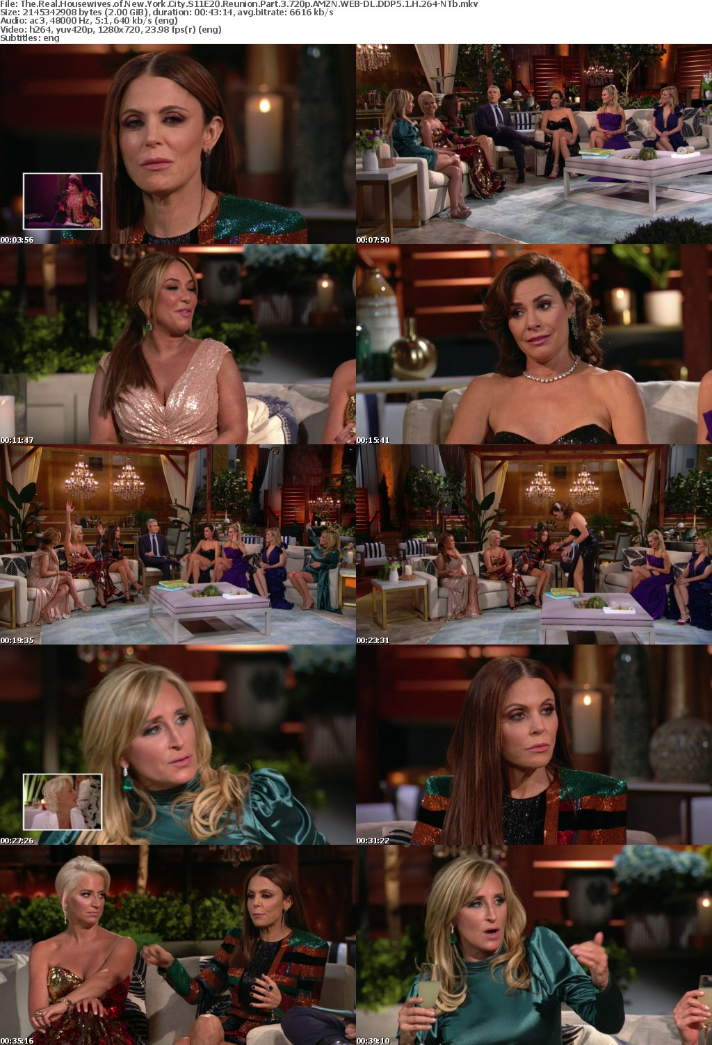 The Real Housewives of New York City S11E20 Reunion Part 3 720p AMZN WEB-DL DDP5 1 H 264-NTb