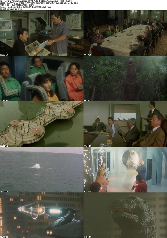 Gojira Vs Kingu Gidora 1991 720p BluRay AAC2 0 x264-CtrlHD