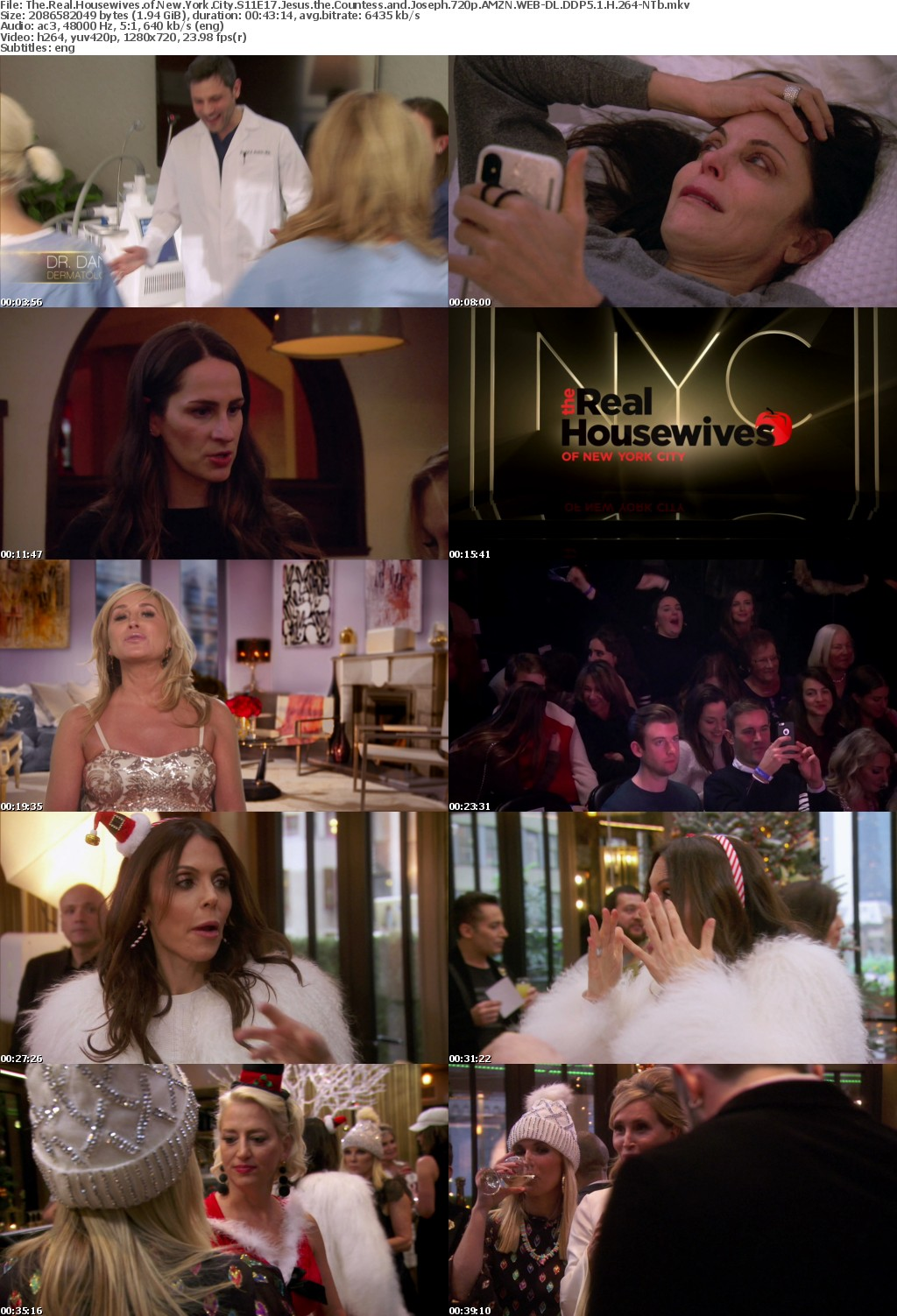 The Real Housewives of New York City S11 720p AMZN WEB-DL DDP5 1 H 264-NTb