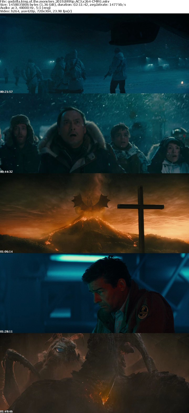 godzilla king of the monsters 2019 BRRip AC3 x264-CMRG