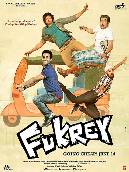 Fukrey (2013) Hindi 720p BluRay x264  YIFY