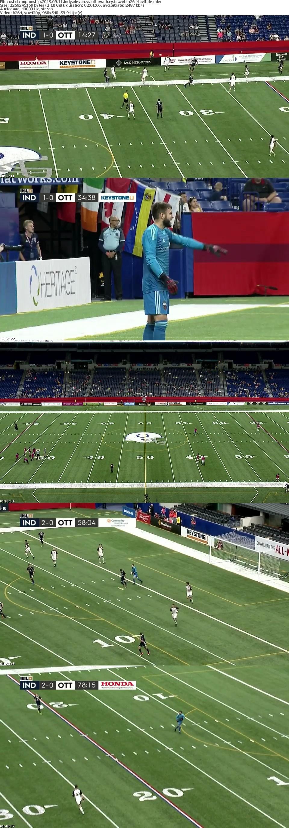 USL Championship 2019 09 11 Indy Eleven vs Ottawa Fury FC WEB H264-LEViTATE