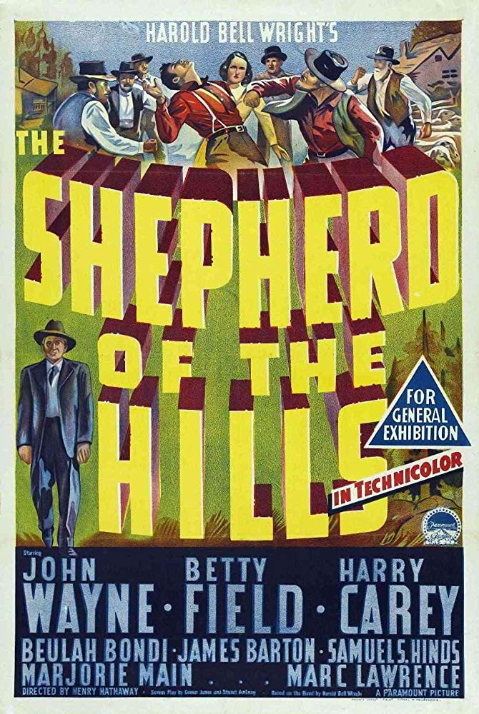 The Shepherd of the Hills 1941 720p BluRay x264 x0r