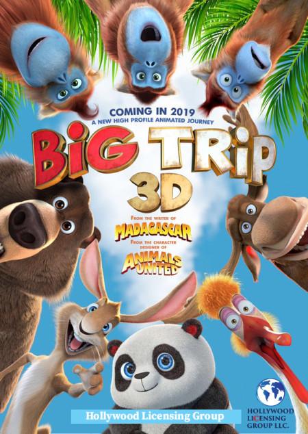 The Big Trip (2019) 1080p WEB DL H264 AC3 EVO