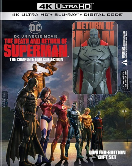 The Death and Return of Superman 2019 720p WEBRip 900MB x264 GalaxyRG