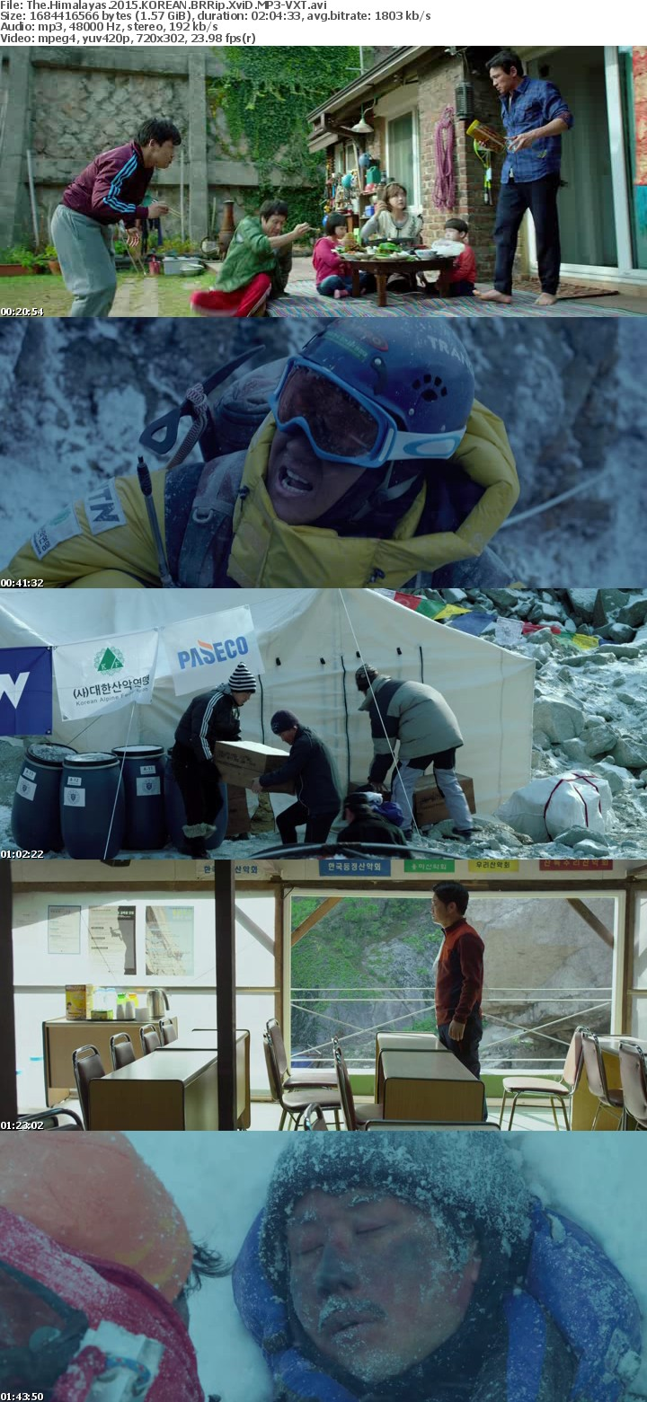 The Himalayas 2015 KOREAN BRRip XviD MP3-VXT