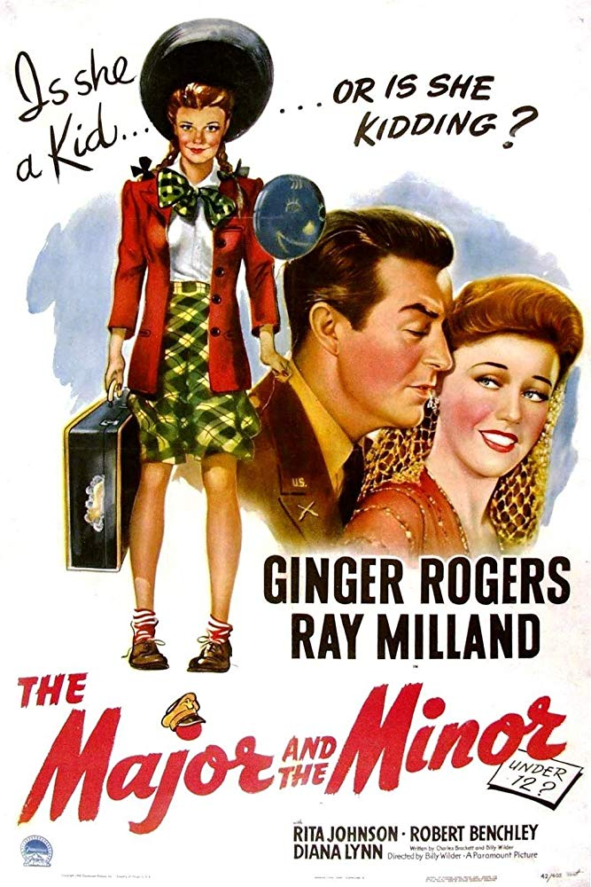 The Major and the Minor 1942 720p BluRay x264 x0r